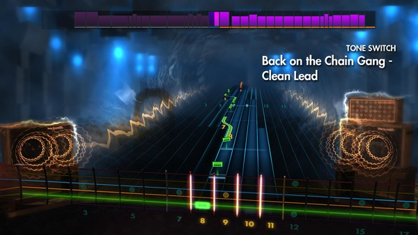 """Скриншот №2 к Rocksmith® 2014 Edition – Remastered – The Pretenders - """"Back on the Chain Gang"""""""