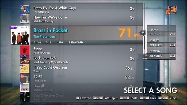 """Скриншот №4 к Rocksmith® 2014 Edition – Remastered – The Pretenders - """"Brass in Pocket"""""""