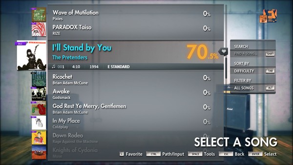"Скриншот №3 к Rocksmith® 2014 Edition – Remastered – The Pretenders - ""Ill Stand by You"""