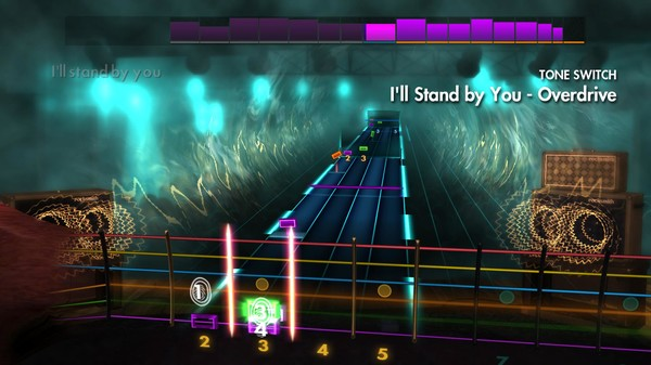 "Скриншот №1 к Rocksmith® 2014 Edition – Remastered – The Pretenders - ""Ill Stand by You"""