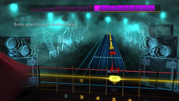 "Скриншот №4 к Rocksmith® 2014 Edition – Remastered – The Pretenders - ""Ill Stand by You"""