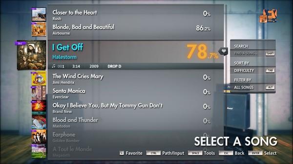 "Скриншот №1 к Rocksmith® 2014 Edition – Remastered – Halestorm - ""I Get Off"""