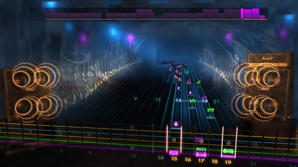 "Скриншот №1 к Rocksmith® 2014 Edition – Remastered – Trans-Siberian Orchestra - ""Wizards in Winter"""