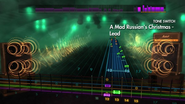 "Скриншот №2 к Rocksmith® 2014 Edition – Remastered – Trans-Siberian Orchestra - ""A Mad Russians Christmas"""