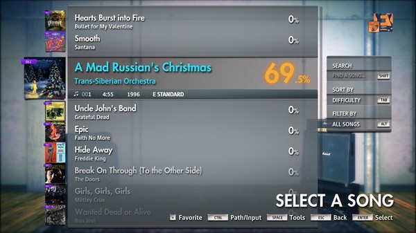 "Скриншот №4 к Rocksmith® 2014 Edition – Remastered – Trans-Siberian Orchestra - ""A Mad Russians Christmas"""