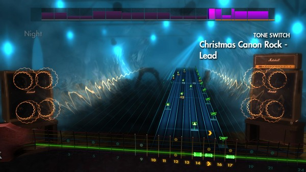 "Скриншот №3 к Rocksmith® 2014 Edition – Remastered – Trans-Siberian Orchestra - ""Christmas Canon Rock"""