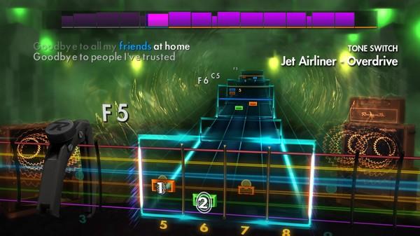 """Скриншот №2 к Rocksmith® 2014 Edition – Remastered – Steve Miller Band - """"Jet Airliner"""""""