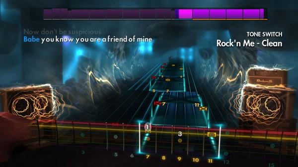 "Скриншот №2 к Rocksmith® 2014 Edition – Remastered – Steve Miller Band - ""Rockn Me"""