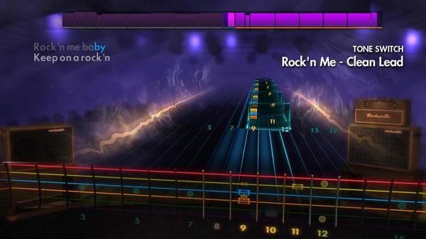 "Скриншот №1 к Rocksmith® 2014 Edition – Remastered – Steve Miller Band - ""Rockn Me"""