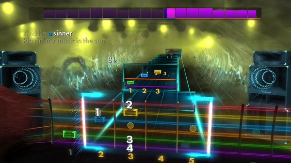 "Скриншот №2 к Rocksmith® 2014 Edition – Remastered – Steve Miller Band - ""The Joker"""