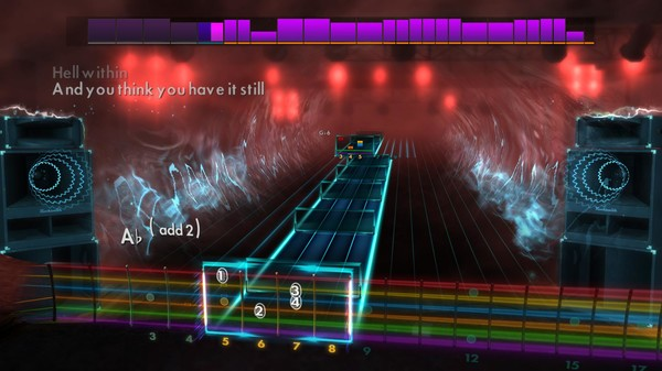 """Скриншот №5 к Rocksmith® 2014 Edition – Remastered – Alice in Chains - """"Heaven Beside You"""""""