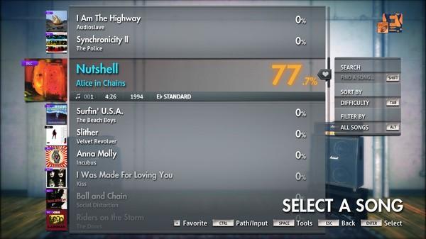 "Скриншот №4 к Rocksmith® 2014 Edition – Remastered – Alice in Chains - ""Nutshell"""