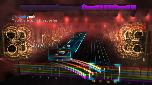 """Скриншот №1 к Rocksmith® 2014 Edition – Remastered – Alice in Chains - """"Rooster"""""""