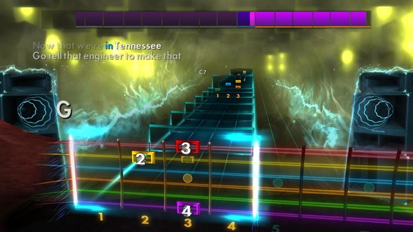 "Скриншот №2 к Rocksmith® 2014 Edition – Remastered – Johnny Cash - ""Hey Porter"""