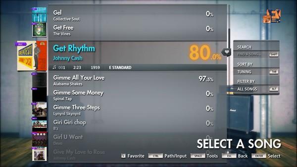 "Скриншот №2 к Rocksmith® 2014 Edition – Remastered – Johnny Cash - ""Get Rhythm"""
