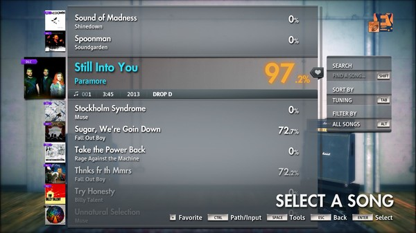 "Скриншот №2 к Rocksmith® 2014 Edition – Remastered – Paramore - ""Still Into You"""