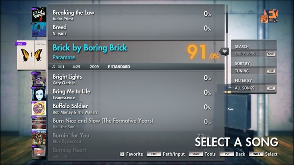 "Скриншот №2 к Rocksmith® 2014 Edition – Remastered – Paramore - ""Brick by Boring Brick"""