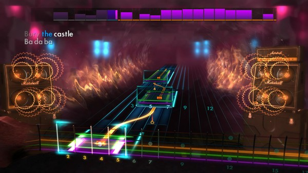 "Скриншот №3 к Rocksmith® 2014 Edition – Remastered – Paramore - ""Brick by Boring Brick"""