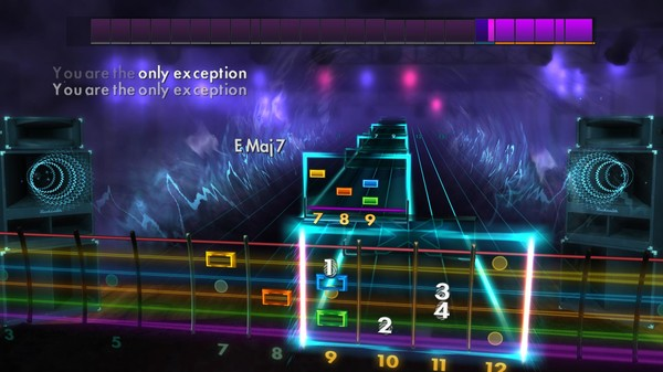 """Скриншот №4 к Rocksmith® 2014 Edition – Remastered – Paramore - """"The Only Exception"""""""