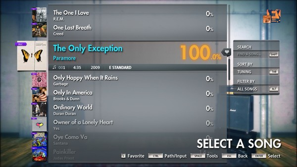 """Скриншот №3 к Rocksmith® 2014 Edition – Remastered – Paramore - """"The Only Exception"""""""