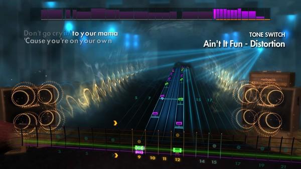 "Скриншот №1 к Rocksmith® 2014 Edition – Remastered – Paramore - ""Aint It Fun"""