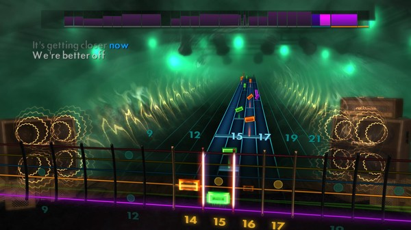 "Скриншот №1 к Rocksmith® 2014 Edition – Remastered – Paramore - ""Pressure"""