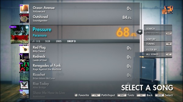 "Скриншот №3 к Rocksmith® 2014 Edition – Remastered – Paramore - ""Pressure"""
