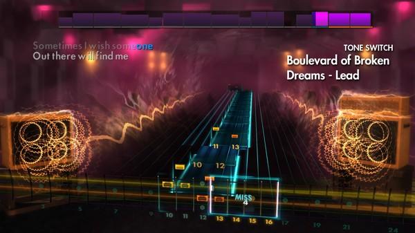 "Скриншот №4 к Rocksmith® 2014 Edition – Remastered – Green Day - ""Boulevard of Broken Dreams"""