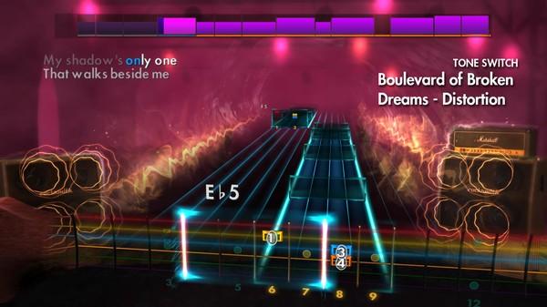 "Скриншот №1 к Rocksmith® 2014 Edition – Remastered – Green Day - ""Boulevard of Broken Dreams"""