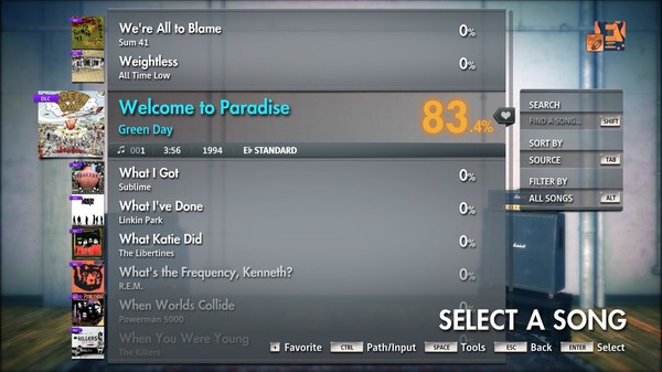"""Скриншот №3 к Rocksmith® 2014 Edition – Remastered – Green Day - """"Welcome to Paradise"""""""