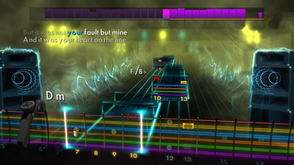 "Скриншот №1 к Rocksmith® 2014 Edition – Remastered – Mumford  Sons - ""Little Lion Man"""