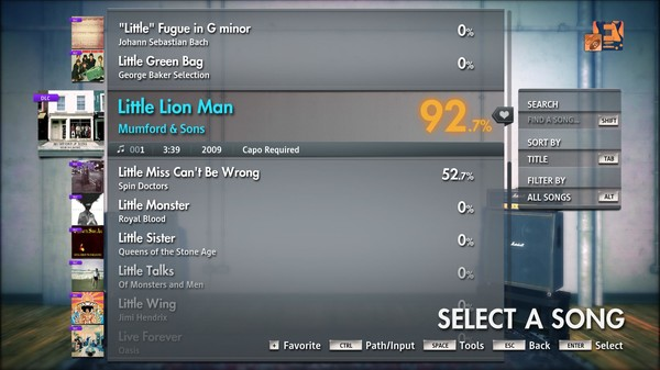 "Скриншот №4 к Rocksmith® 2014 Edition – Remastered – Mumford  Sons - ""Little Lion Man"""