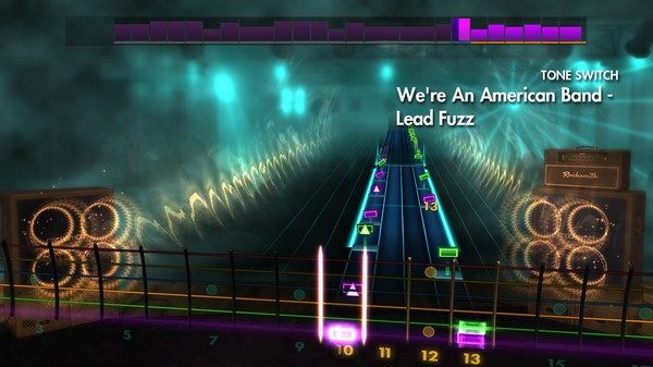 Скриншот №2 к Rocksmith® 2014 Edition – Remastered – 70s Mix Song Pack III