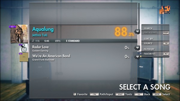 "Скриншот №3 к Rocksmith® 2014 Edition – Remastered – Jethro Tull - ""Aqualung"""