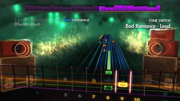 "Скриншот №2 к Rocksmith® 2014 Edition – Remastered – Lady Gaga - ""Bad Romance"""