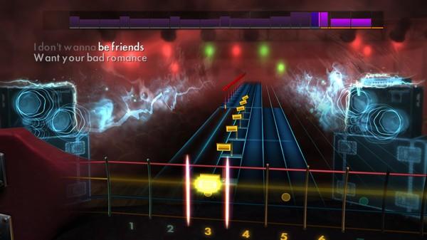 "Скриншот №4 к Rocksmith® 2014 Edition – Remastered – Lady Gaga - ""Bad Romance"""