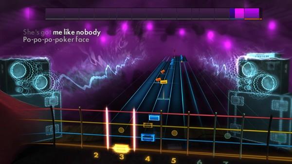 "Скриншот №3 к Rocksmith® 2014 Edition – Remastered – Lady Gaga - ""Poker Face"""