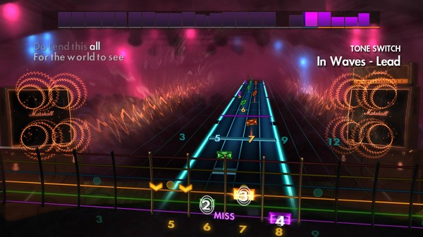Скриншот №1 к Rocksmith® 2014 Edition – Remastered – Trivium Song Pack
