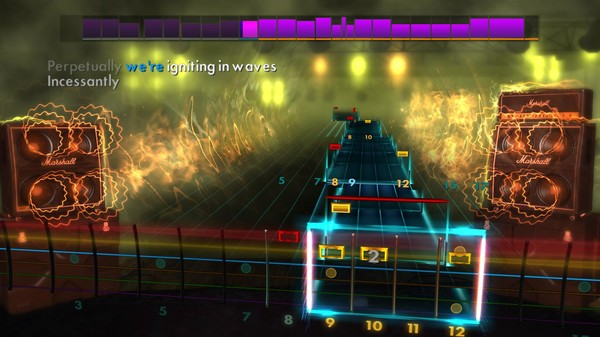 "Скриншот №5 к Rocksmith® 2014 Edition – Remastered – Trivium - ""In Waves"""