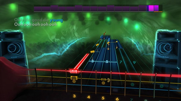 """Скриншот №2 к Rocksmith® 2014 Edition – Remastered – Billy Joel - """"Only the Good Die Young"""""""