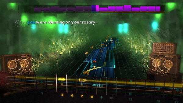 """Скриншот №4 к Rocksmith® 2014 Edition – Remastered – Billy Joel - """"Only the Good Die Young"""""""
