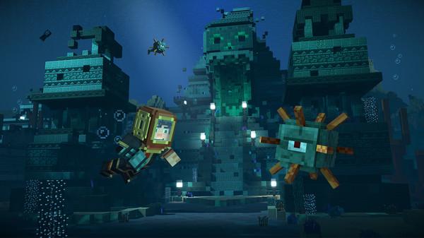 Скриншот №12 к Minecraft Story Mode - Season Two