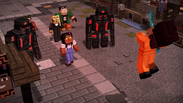 Скриншот №3 к Minecraft Story Mode - Season Two