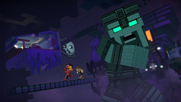 Скриншот №1 к Minecraft Story Mode - Season Two
