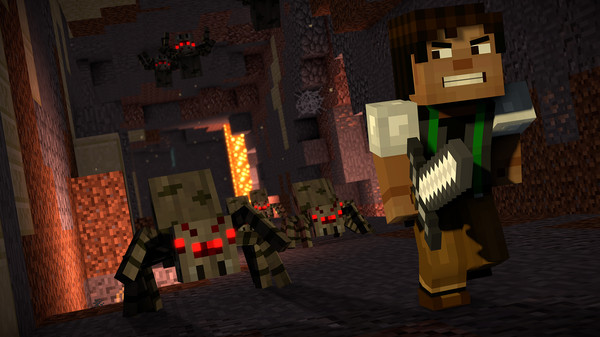 Скриншот №11 к Minecraft Story Mode - Season Two