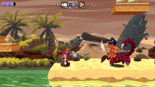 Скриншот №4 к Shantae Pirate Queens Quest