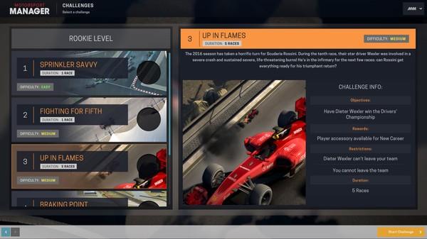 Скриншот №2 к Motorsport Manager - Challenge Pack