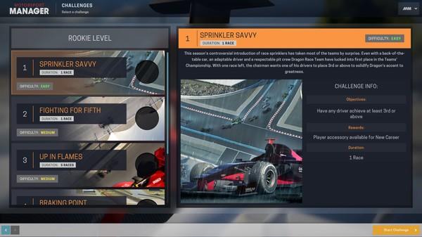 Скриншот №5 к Motorsport Manager - Challenge Pack