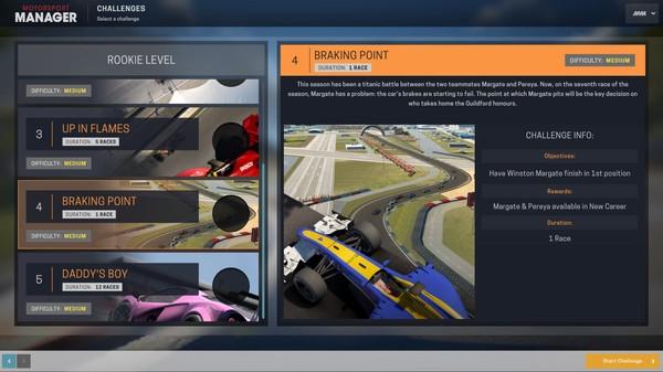 Скриншот №6 к Motorsport Manager - Challenge Pack