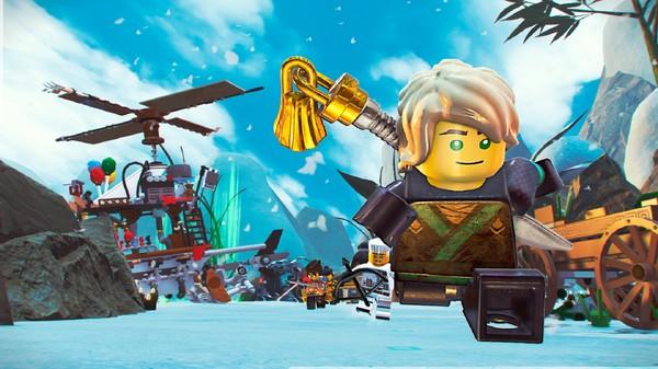 Скриншот №1 к The LEGO® NINJAGO® Movie Video Game